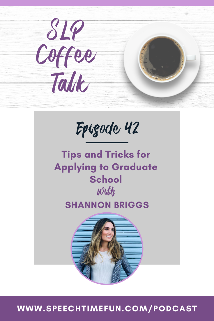 42: Tips and Tricks for Applying to Graduate School