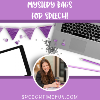 Mystery Bags for Speech!