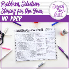 problem solution worksheets