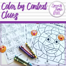 color by context clues